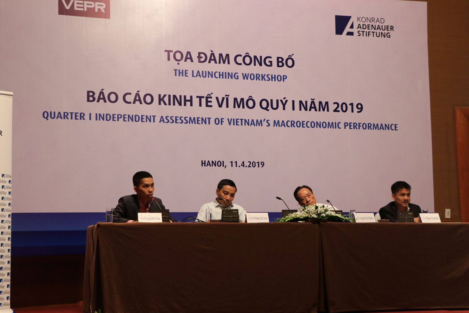 The Launching Workshop: Quater I Independent Assessment of Vietnam's Macroeconomic Performance